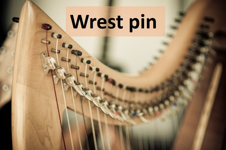 Wrest pin image