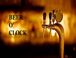 Beer o'clock image