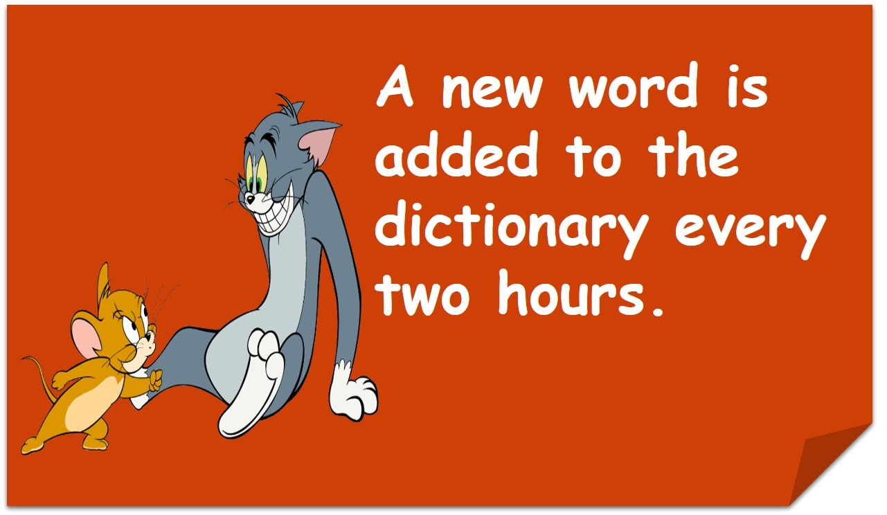 New Words in Dictionary