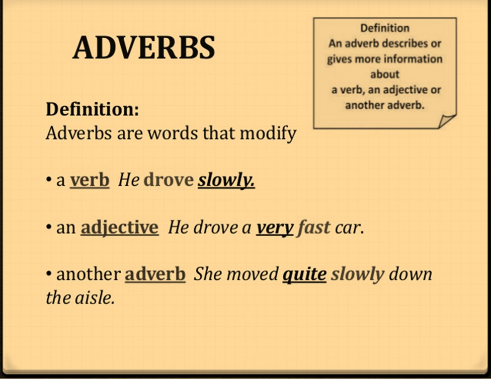 Class 7 Verbs And Adverbs English Square