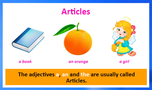 Articles and Prepositions