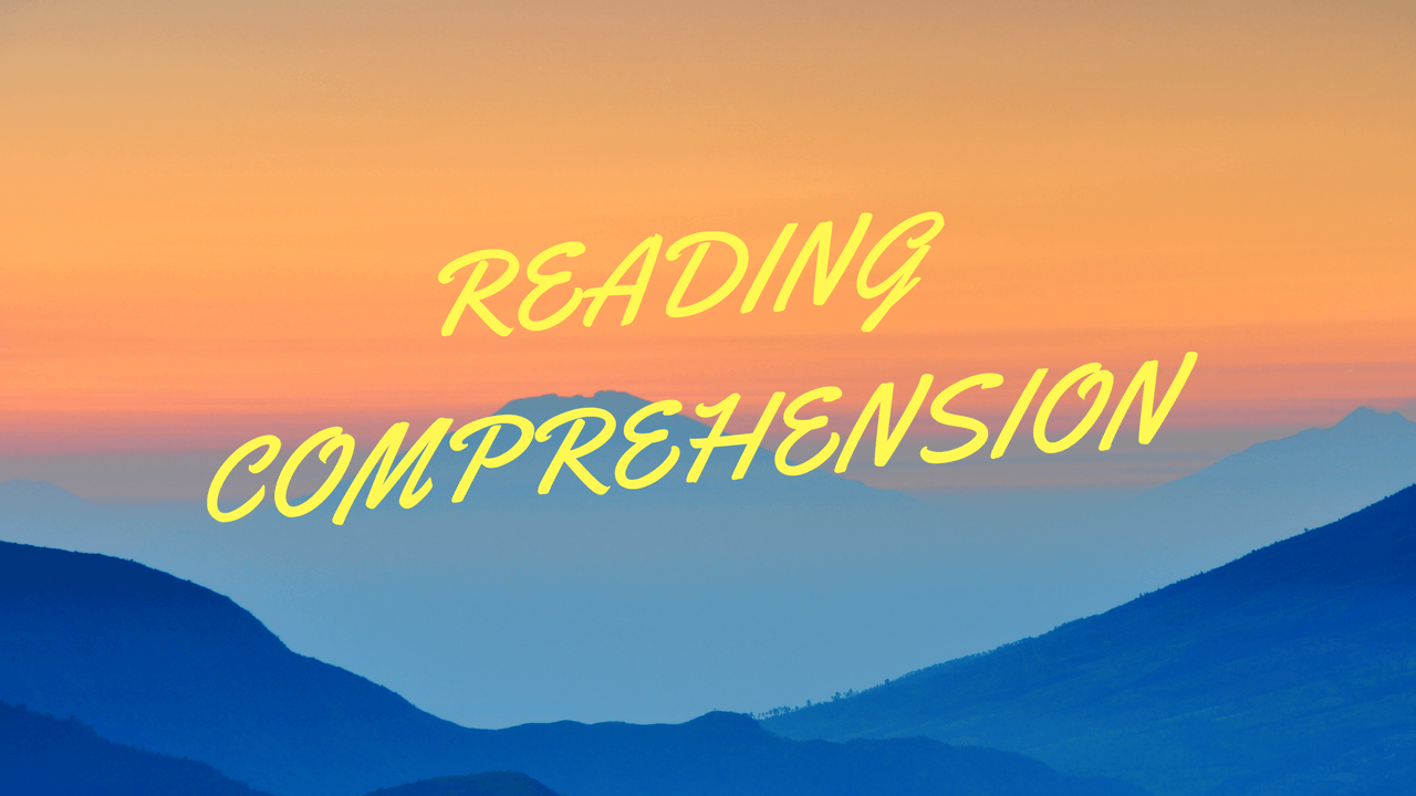 Comprehension (Prose & Poetry)