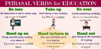 Verbs & Phrasal Verbs
