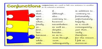 Conjunctions and Determiners
