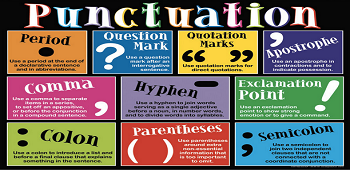 Conjunctions and Punctuations